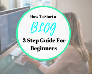How you can start a blog in 3 simple steps, in this article we look at blogging for beginners and how to create and set up you very own blog.