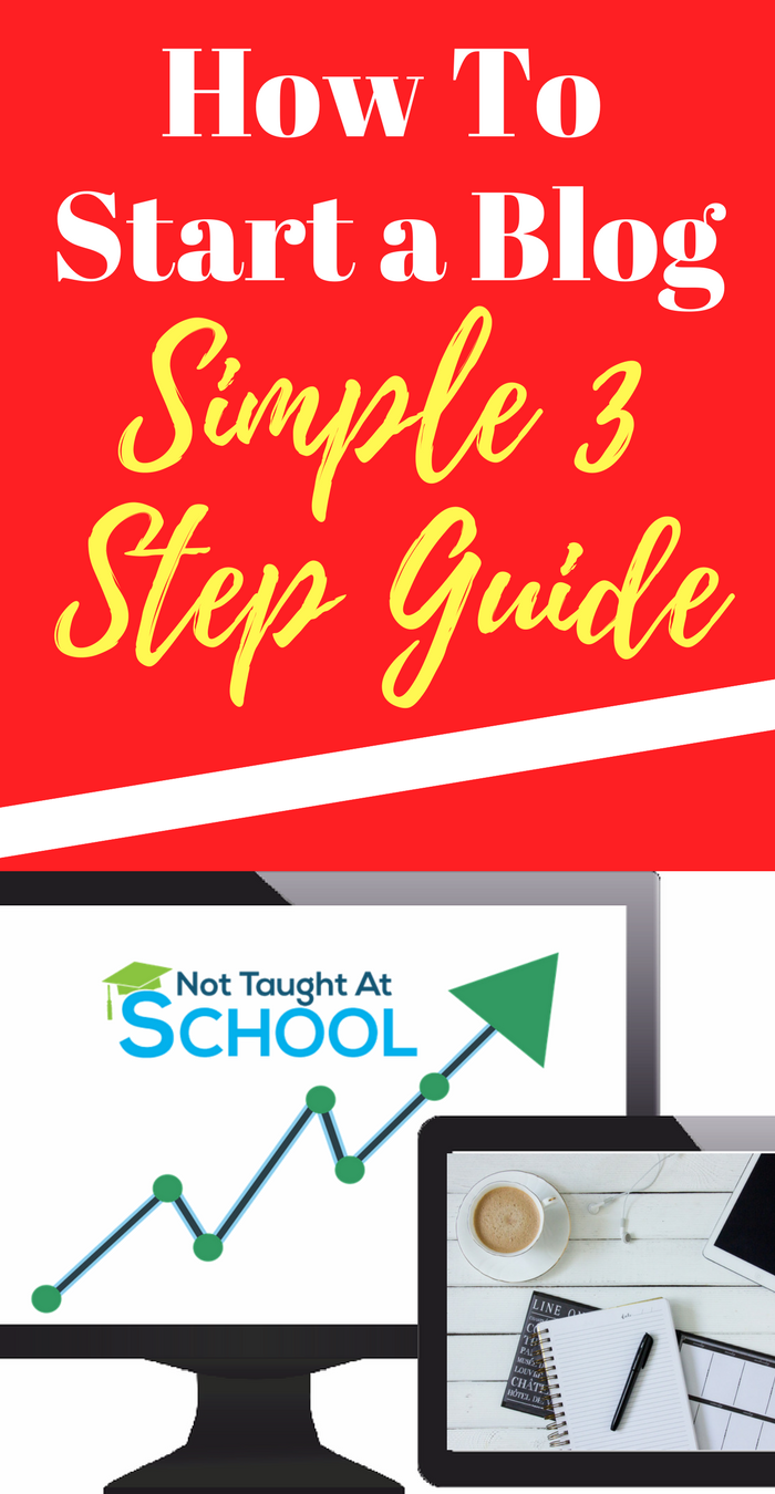 How to start a blog (3) Not Taught At School