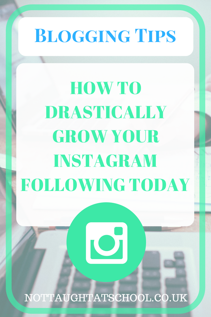 How to Drastically Increase Your Instagram Following