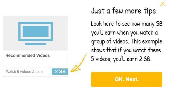 Watch Videos To Earn Swagbucks.