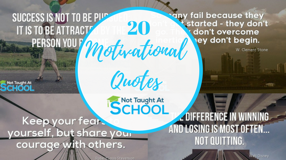 Best Motivational Quotes - 20 Of The Best.