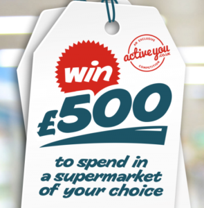 Enter your details below for your chance to Win £500.