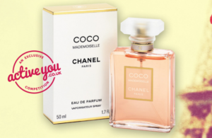 Enter your details below for your chance to Win Coco Chanel Perfume.