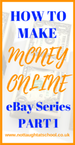 Welcome to the eBay series - How to make money online. Today we cover a very simple way to start making money on eBay