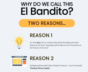 EL Bandito - Product Review & Bonus