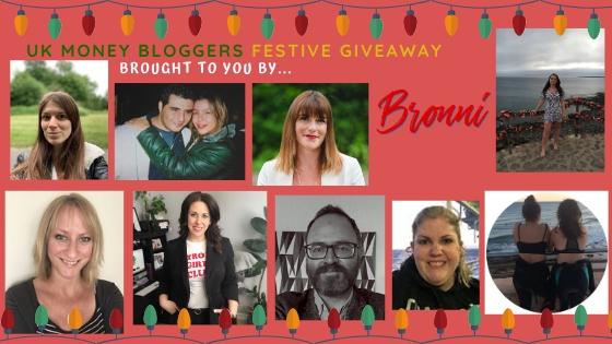 The UK money bloggers Christmas giveaway