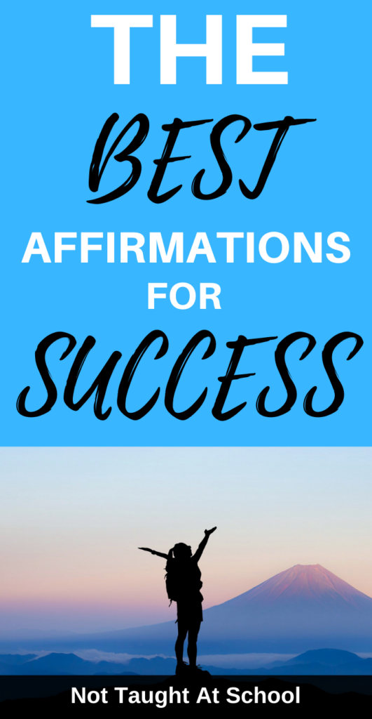The Best Affirmations For Success