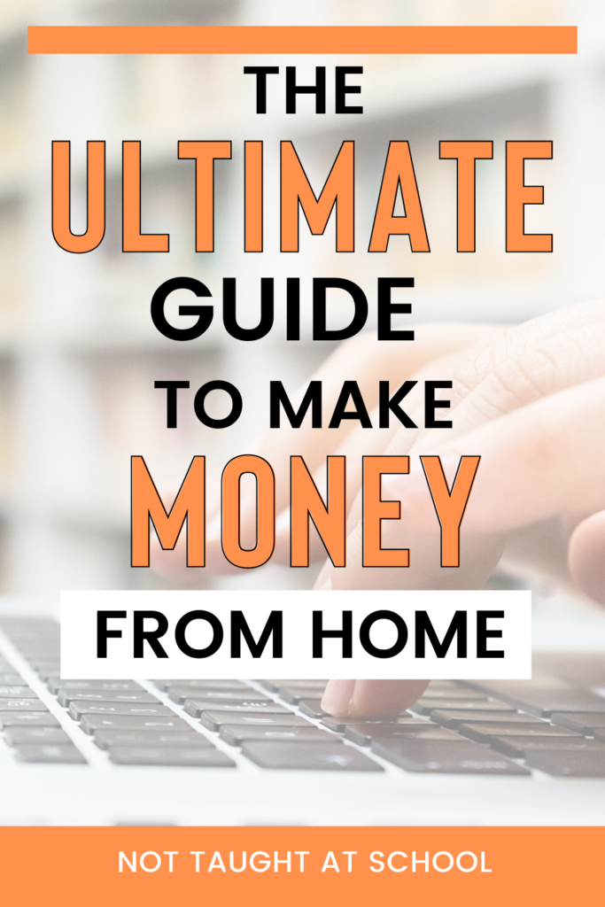 If you are looking to make money from home then stop searching, this article has everything you will ever need.