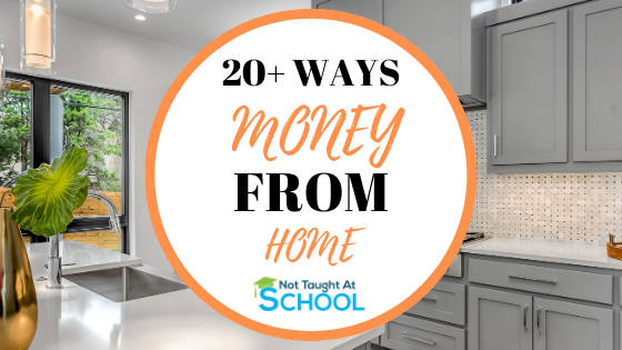 20+ Ways To Make Money From Home Part Time
