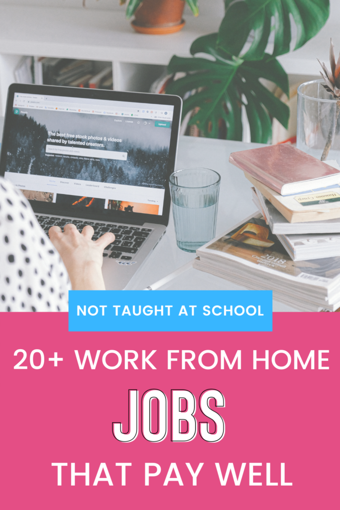 Make money from home part time with these 20+ jobs.