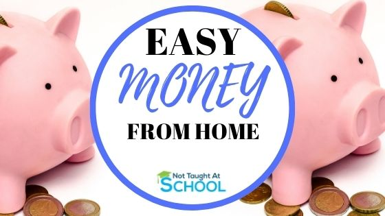 5 Easy Ways To Make Money Online From Home