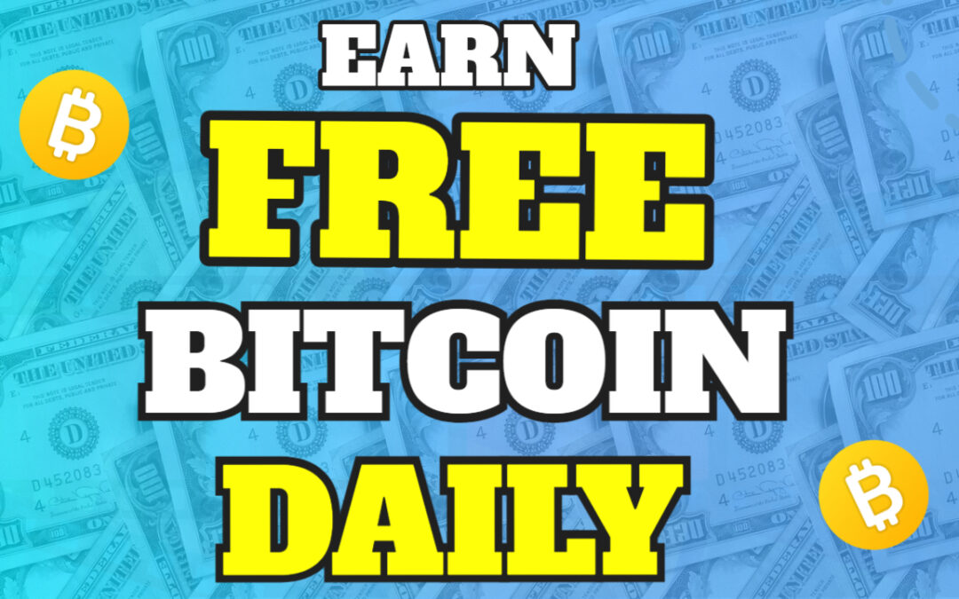 Earn Free Bitcoin [Daily] With This One Website
