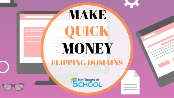 Earn Money Online Flipping Domains [4 Simple Steps]