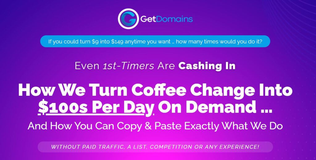 Get Domains Product Review