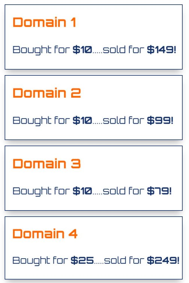 Get Domains Results