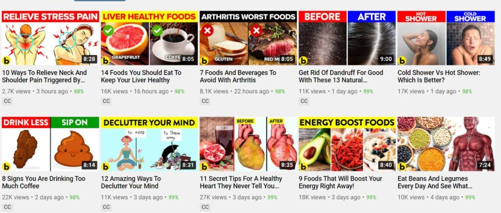 How Much Can a YouTube Cash Cow Channel Make Example