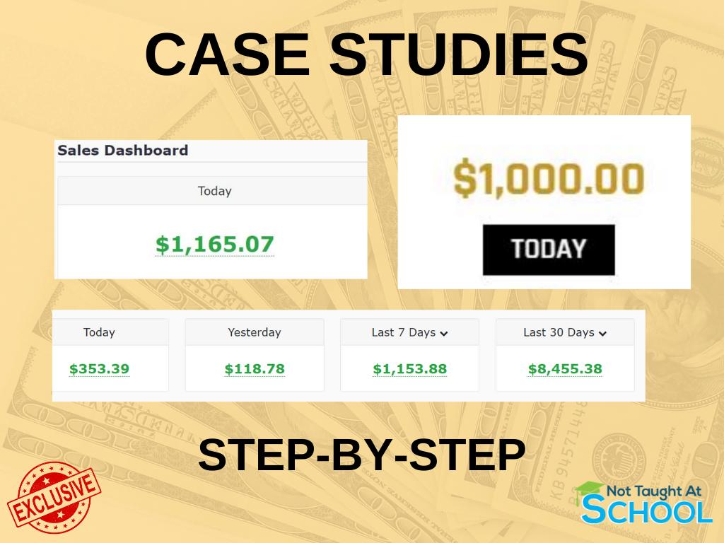 Legendary Marketer Bonus - Case Studies.