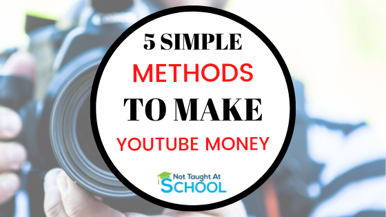 How to Make Money On YouTube: 5 Simple Methods
