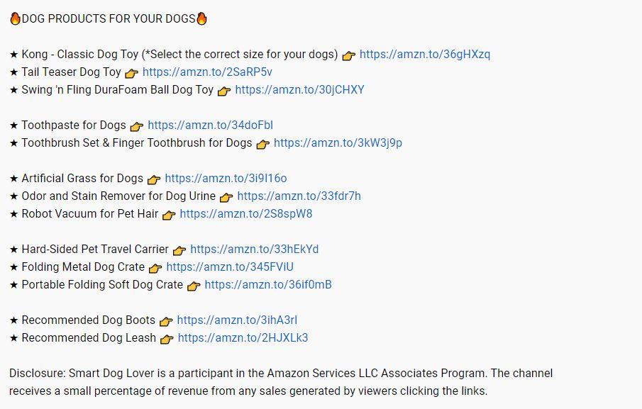 Make Money On YouTube - Amazon Affiliate Links