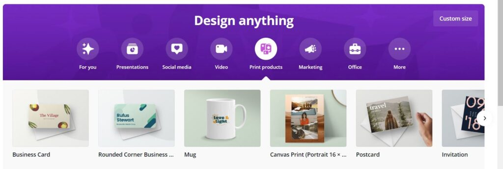 Make Money On YouTube With Merch Example Using Canva