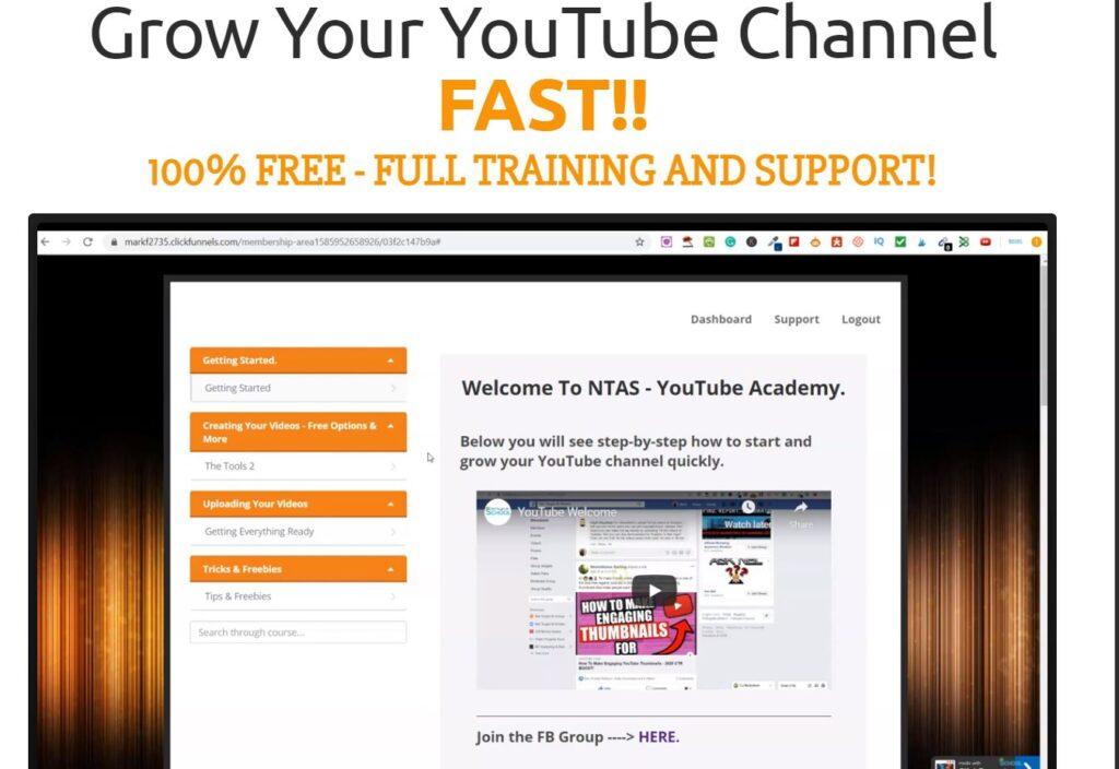 YouTube Free Course - NTAS YouTube Academy