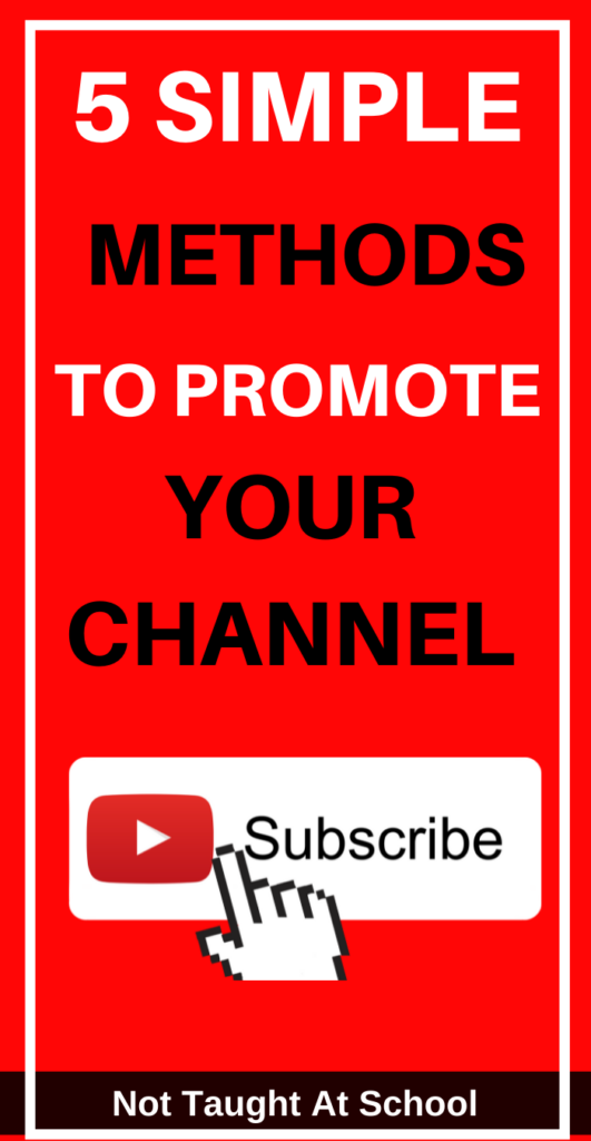 5 Simple Ways To Promote Your YouTube Channel